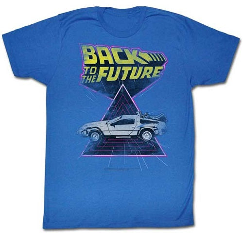 MEN'S BACK TO THE FUTURE SPEED DEMON LIGHTWEIGHT TEE - Blue Culture Tees