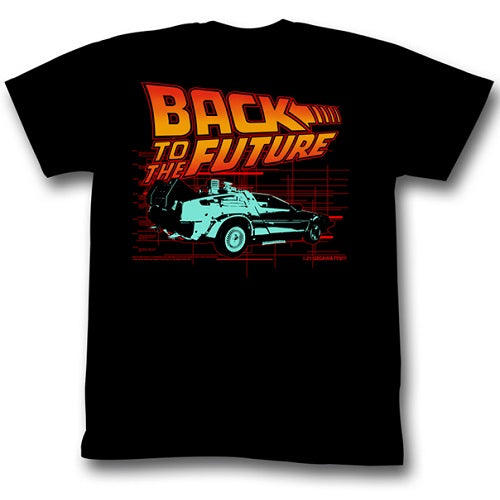 MEN'S BACK TO THE FUTURE ITLL BE LIGHTWEIGHT TEE - Blue Culture Tees