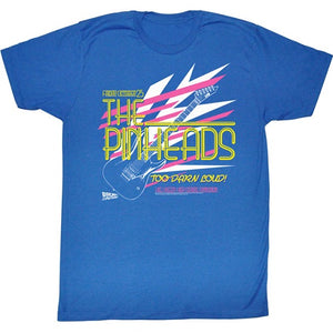 MEN'S BACK TO THE FUTURE PINHEAD LIGHTWEIGHT TEE - Blue Culture Tees