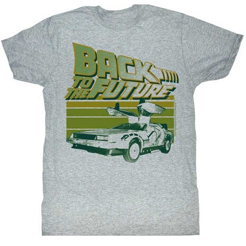 MEN'S BACK TO THE FUTURE GREEN FLIGHT LIGHTWEIGHT TEE - Blue Culture Tees