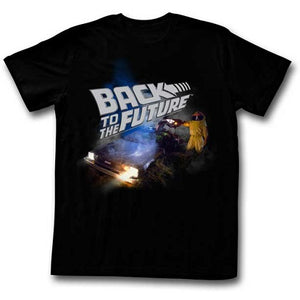 MEN'S BACK TO THE FUTURE SMOKY LIGHTWEIGHT TEE - Blue Culture Tees