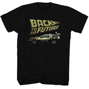 MEN'S BACK TO THE FUTURE BTF LIGHTWEIGHT TEE - Blue Culture Tees
