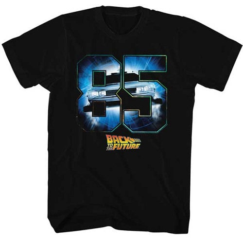 MEN'S BACK TO THE FUTURE EIGHTY FIVE LIGHTWEIGHT TEE - Blue Culture Tees