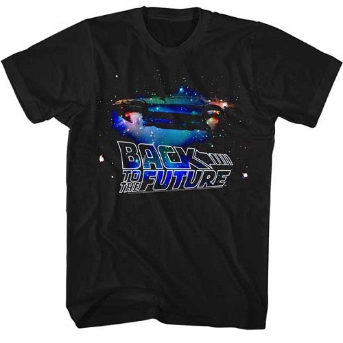 MEN'S BACK TO THE FUTURE GALAXY LIGHTWEIGHT TEE - Blue Culture Tees