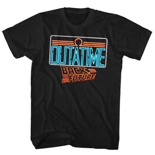 MEN'S BACK TO THE FUTURE NEON TEE - Blue Culture Tees