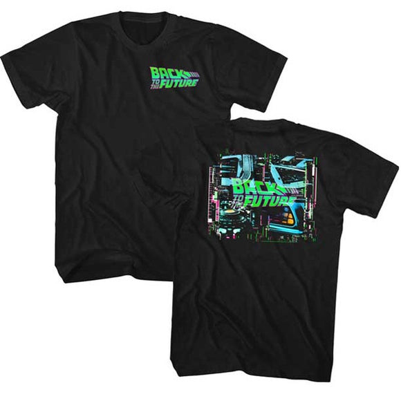 MEN'S BACK TO THE FUTURE NEONBTTF TEE