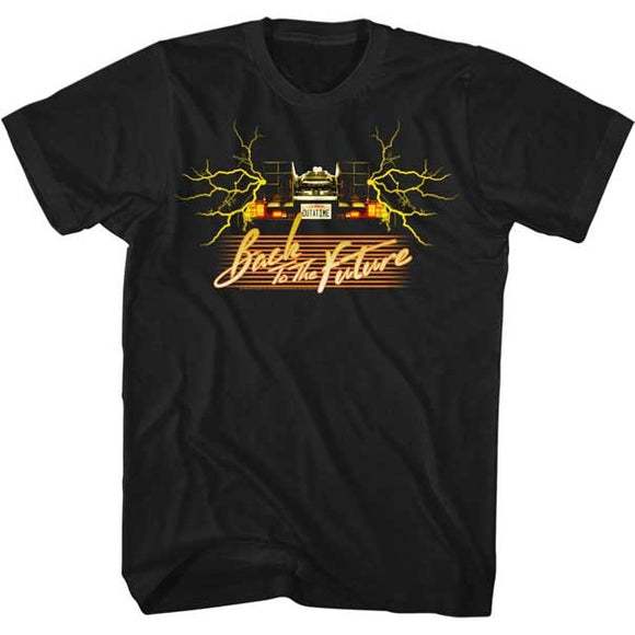 MEN'S BACK TO THE FUTURE YELLOW CAR TEE
