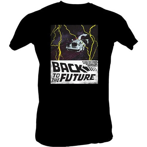 MEN'S BACK TO THE FUTURE IN SPACE LIGHTWEIGHT TEE - Blue Culture Tees