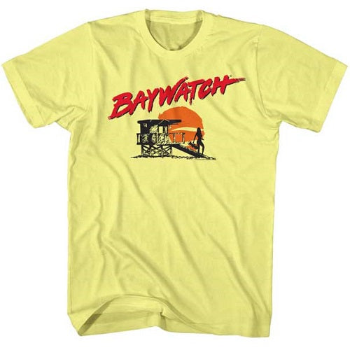 MEN'S BAYWATCH SILHOUETTE LIGHTWEIGHT TEE