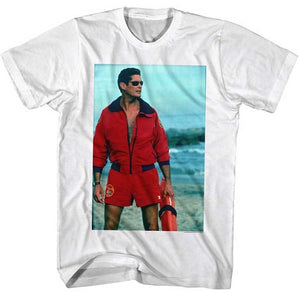 MEN'S BAYWATCH ON THE BEACH LIGHTWEIGHT TEE