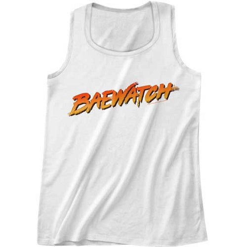 MEN'S BAYWATCH BAYWATCH LOGO TANK TOP - Blue Culture Tees