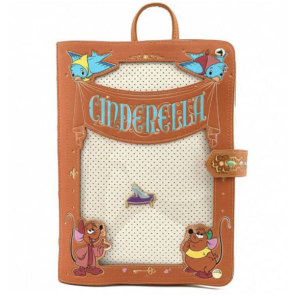 Loungefly Disney Cinderella Pin Collector Backpack - Preorder
