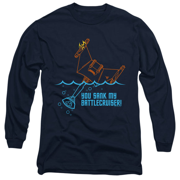 Men's Star Trek TOS Battlecruiser Long Sleeve Tee
