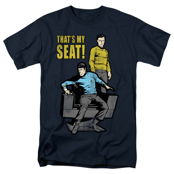 Men's Star Trek TOS My Seat Tee