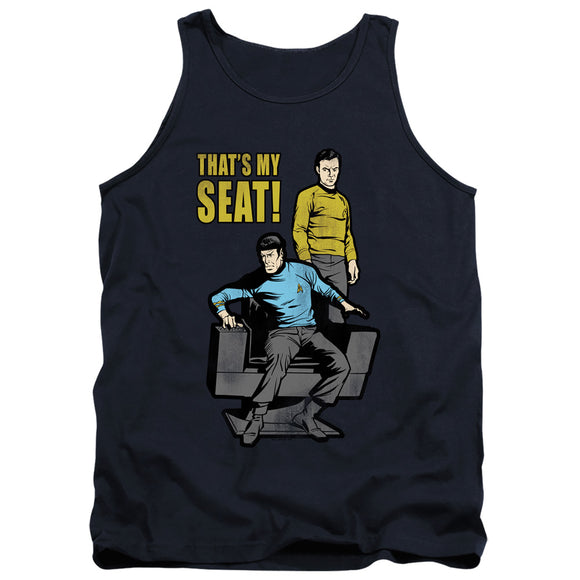 Men's Star Trek TOS My Seat Tank Top