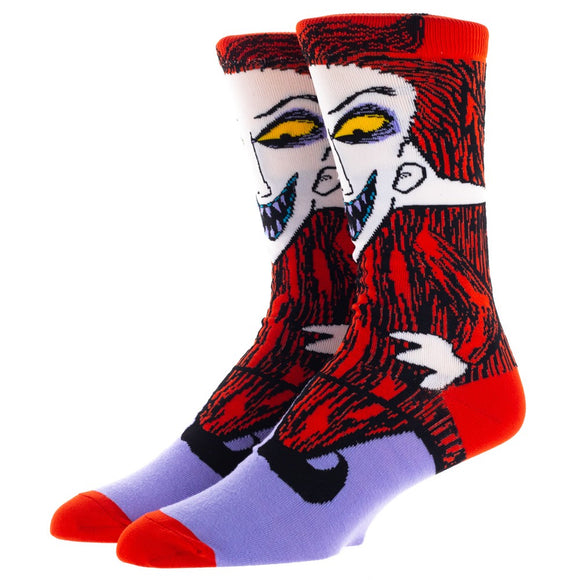 Disney The Nightmare Before Christmas Lock 360 Character Crew Socks