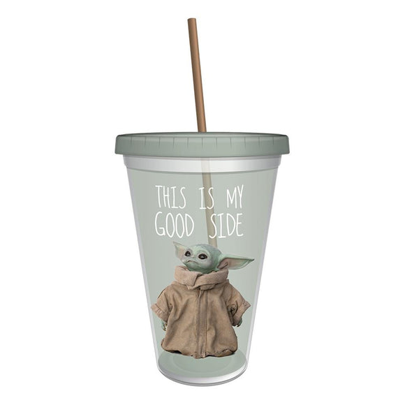 STAR WARS MANDALORIAN THE CHILD 16 OZ. ACRYLIC TRAVEL CUP