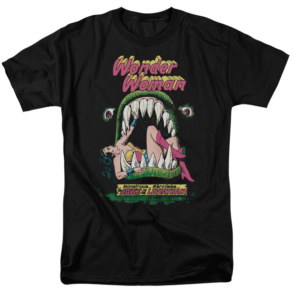 MEN'S WONDER WOMAN JAWS OF LEVIATHAN TEE