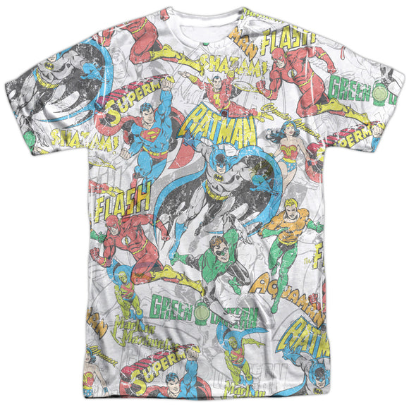 Men's DC Comics Superman Super Collage Sublimated Tee
