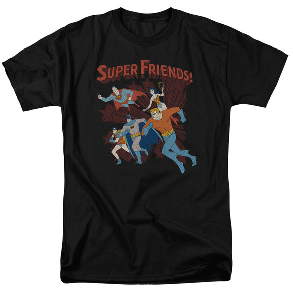 Men's DC Comics Super Friends Superhero Tee