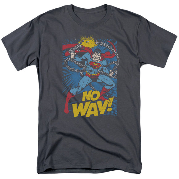 Men's DC Comics Superman No Way Tee