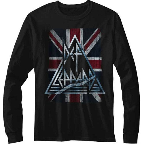 MEN'S DEF LEPPARD JACKED UP LONG SLEEVE TEE