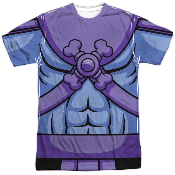 MEN'S MASTERS OF THE UNIVERSE SKELETOR COSTUME SUBLIMATED TEE