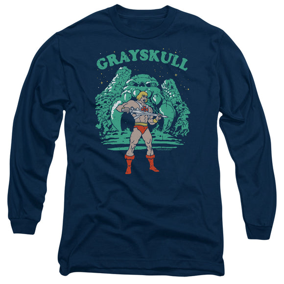 MEN'S MASTERS OF THE UNIVERSE GRAYSKULL NIGHTS LONG SLEEVE TEE