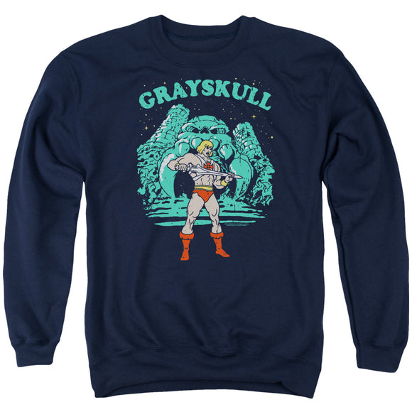 MEN'S MASTERS OF THE UNIVERSE GRAYSKULL NIGHTS CREWNECK SWEATSHIRT