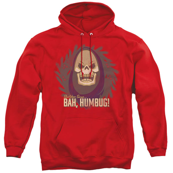 MEN'S MASTERS OF THE UNIVERSE BAH HUMBUG PULLOVER HOODIE