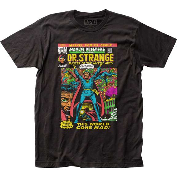 Men's Marvel Comics Dr Strange Let Magic Reign Tee