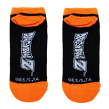 Dragon Ball Z Dragon Ball No-Show Socks - Blue Culture Tees