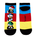 DISNEY DUCKTALES HUEY DEWEY & LOUIE NO-SHOW SOCKS - Blue Culture Tees