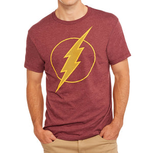 MEN'S DC COMICS FLASH LOGO TEE - Blue Culture Tees