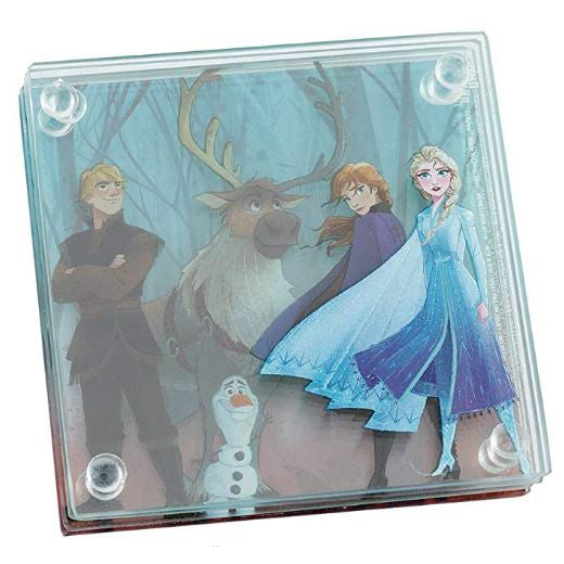 Disney Frozen 2 Stacking Glass Coaster Set Of 4