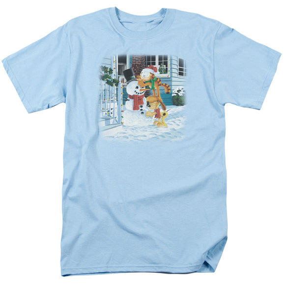 MEN'S GARFIELD SNOW FUN TEE