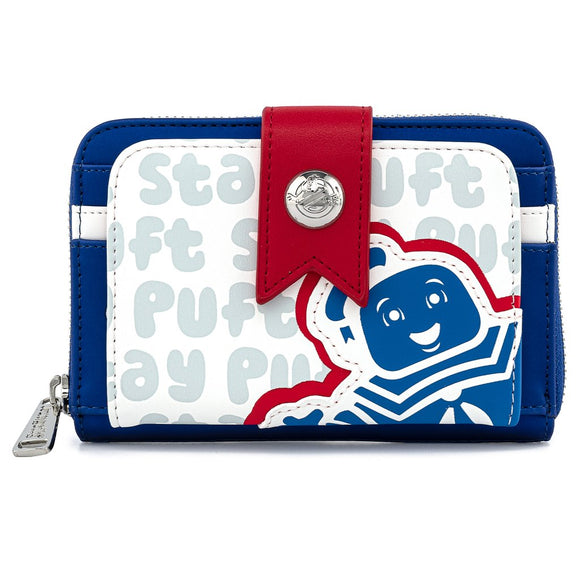 Loungefly Ghostbusters Stay Puft Marshmallow Man Ziparound Wallet