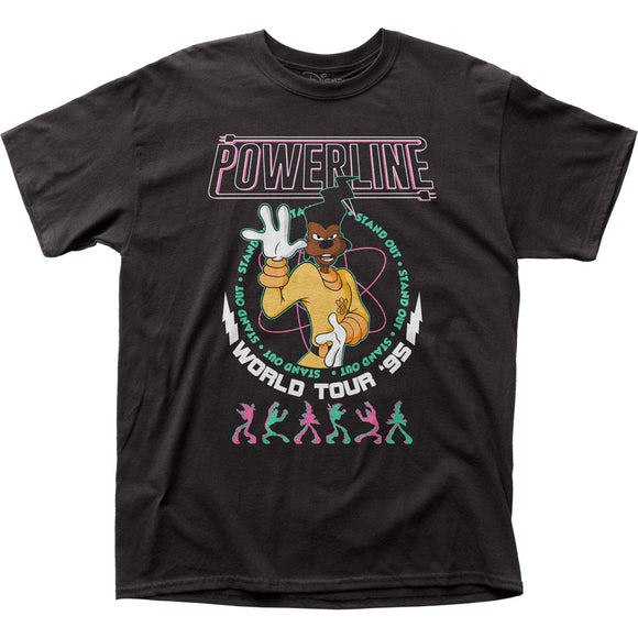 Men's Disney A Goofy Movie Powerline Tee