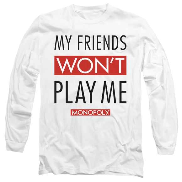 MEN'S MONOPOLY MY FRIENDS LONG SLEEVE TEE