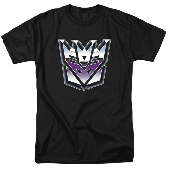 MEN'S TRANSFORMERS DECEPTICON AIRBRUSH LOGO TEE