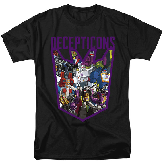 MEN'S TRANSFORMERS DECEPTICON COLLAGE TEE