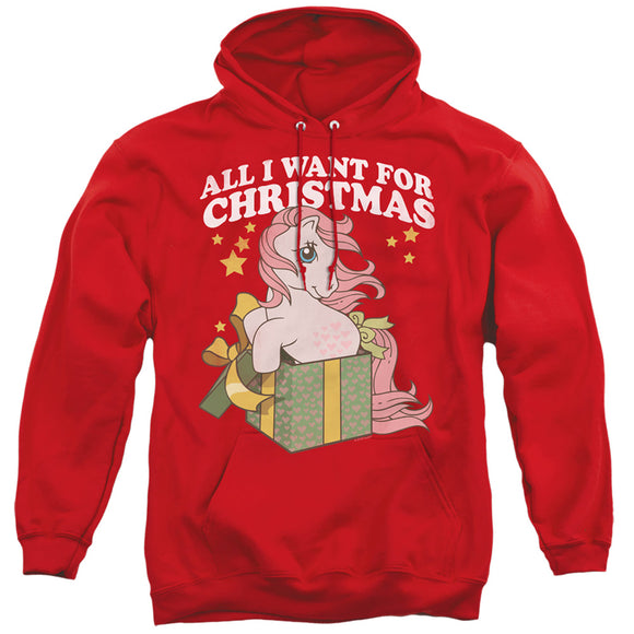 MEN'S MY LITTLE PONY RETRO ALL I WANT PULLOVER HOODIE