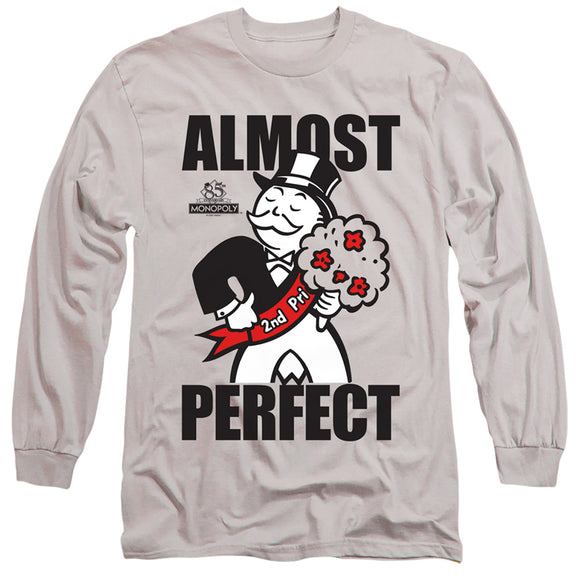 MEN'S MONOPOLY ALMOST PERFECT LONG SLEEVE TEE
