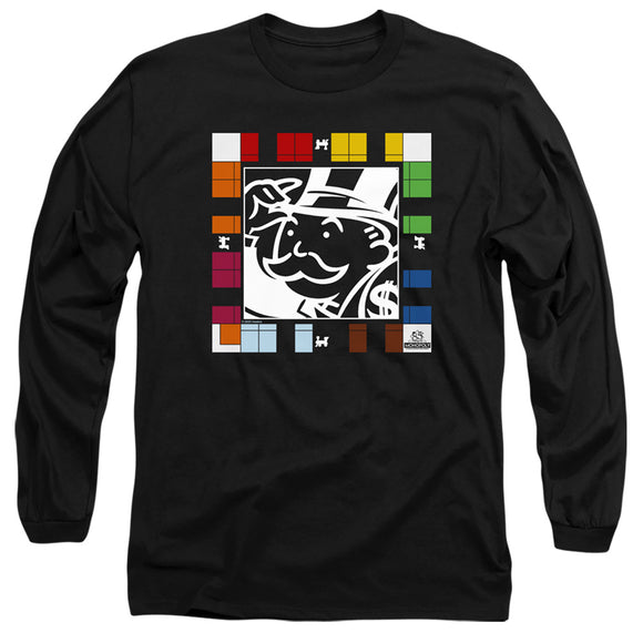 MEN'S MONOPOLY GAME BOARD LONG SLEEVE TEE