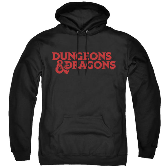 MEN'S DUNGEONS AND DRAGONS TYPE LOGO PULLOVER HOODIE
