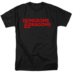 MEN'S DUNGEONS AND DRAGONS TYPE LOGO TEE