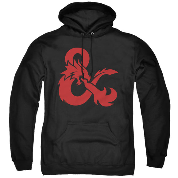 MEN'S DUNGEONS AND DRAGONS AMPERSAND LOGO PULLOVER HOODIE