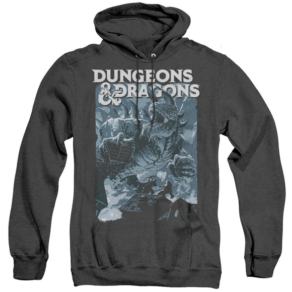 MEN'S DUNGEONS AND DRAGONS TARRASQUE HEATHER PULLOVER HOODIE