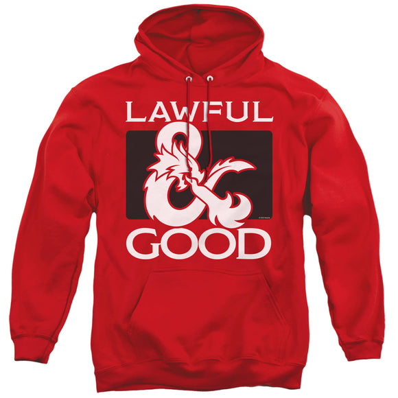 MEN'S DUNGEONS AND DRAGONS LAWFUL GOOD PULLOVER HOODIE