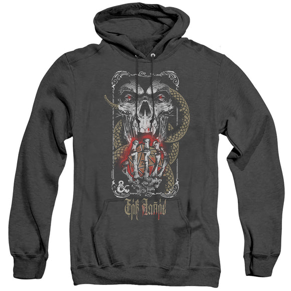MEN'S DUNGEONS AND DRAGONS LICH FOR CHAOS HEATHER PULLOVER HOODIE
